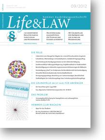 Life&LAW Ausgabe 2012/09