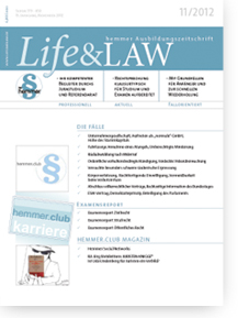 Life&LAW Ausgabe 2012/11