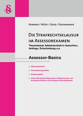 eBook Assessor Die Strafrechtsklausur im Assessorexamen - Theorieband