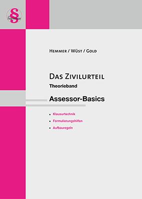eBook Assessor Das Zivilurteil - Theorieband