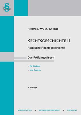eBook Rechtsgeschichte II - Römische Rechtsgeschichte