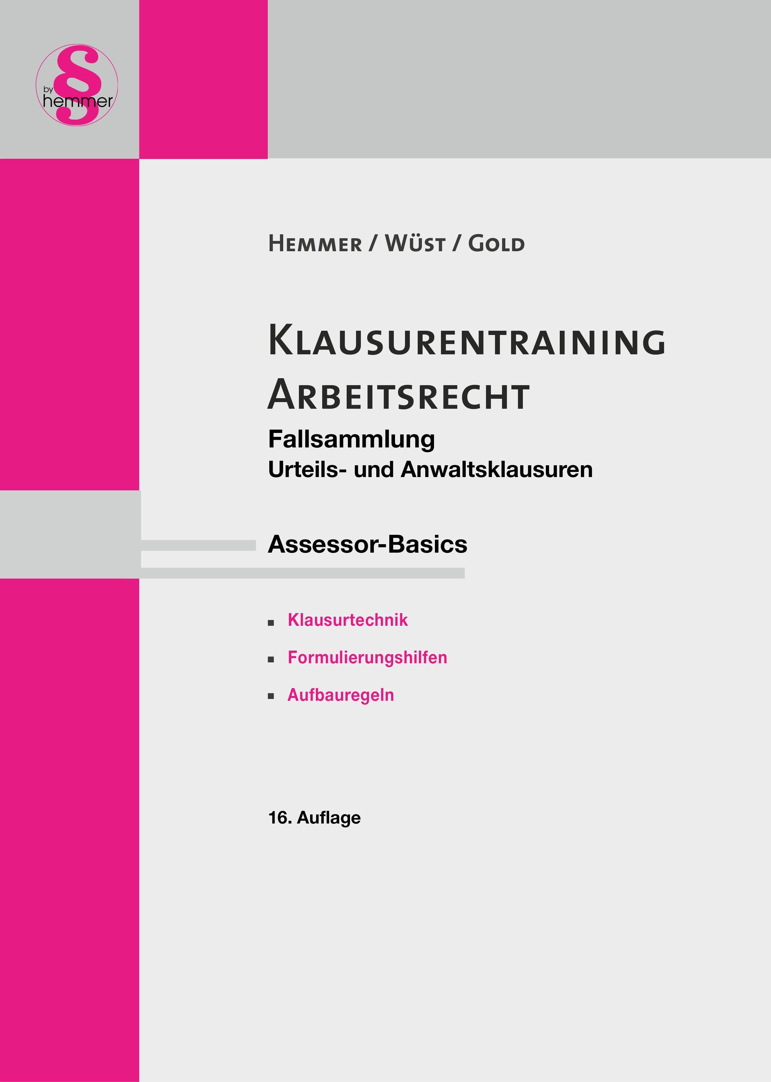 eBook Assessor Klausurentraining: Arbeitsrecht
