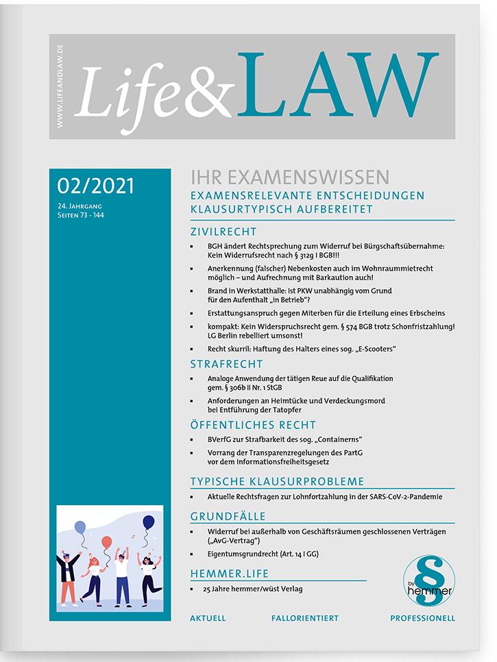 Life&LAW digital Ausgabe 2021/02