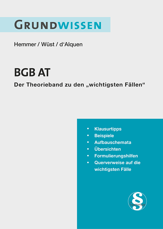 eBook Grundwissen BGB AT