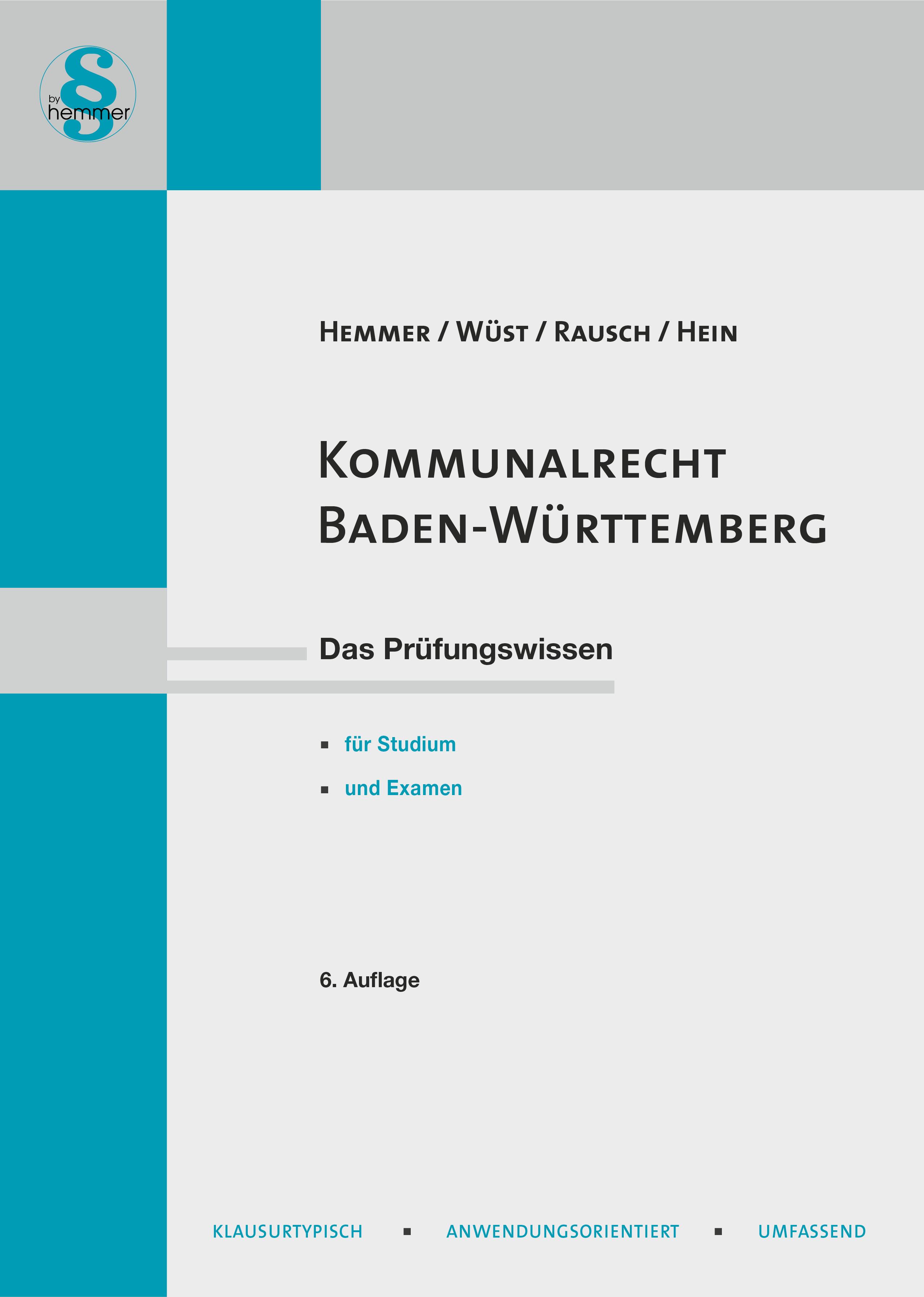 eBook Kommunalrecht Baden-Württemberg