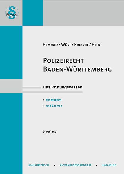 eBook Polizeirecht Baden-Württemberg