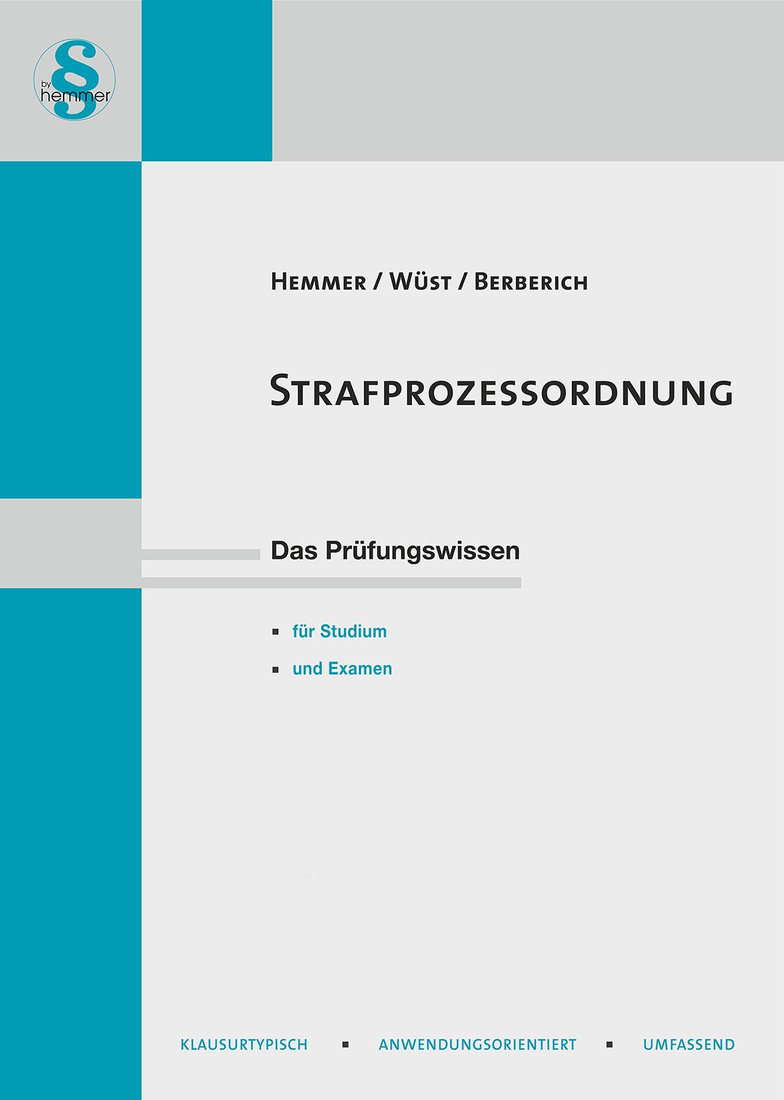 eBook Strafprozessordnung (StPO)