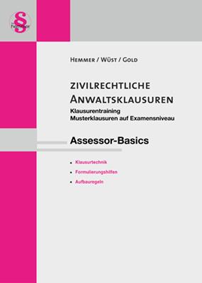 eBook Assessor Klausurentraining: Zivilrechtliche Anwaltsklausuren